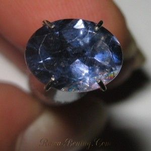 Violetish Blue Iolite Oval 1.40 carat