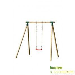 Analies - enkele houten schommel