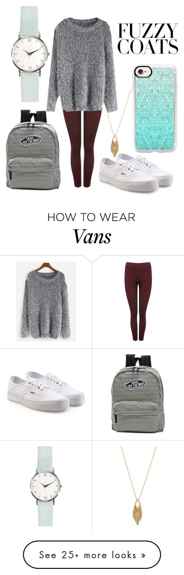 """""""Warm and Fuzzy Feelings"""" by erinnnn007 on Polyvore featuring Jessica Simpson, M&Co, WithChic, Vans and Casetify"""