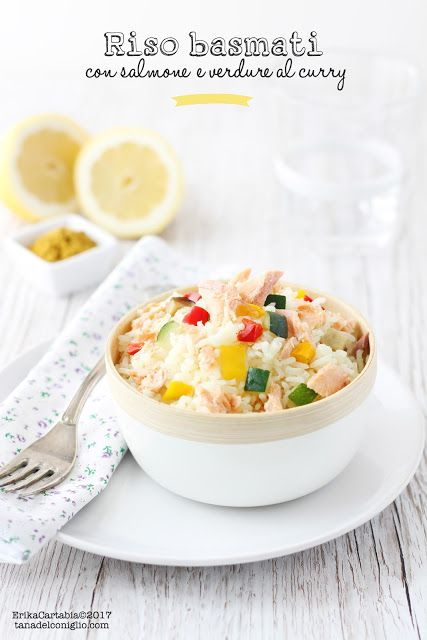 Un piatto unico profumatissimo e leggero dai sapori orientali. Il riso basmati ha una consistenza e un aroma unico e può essere arricchito da una buona quantità di verdure di stagione, quelle che più