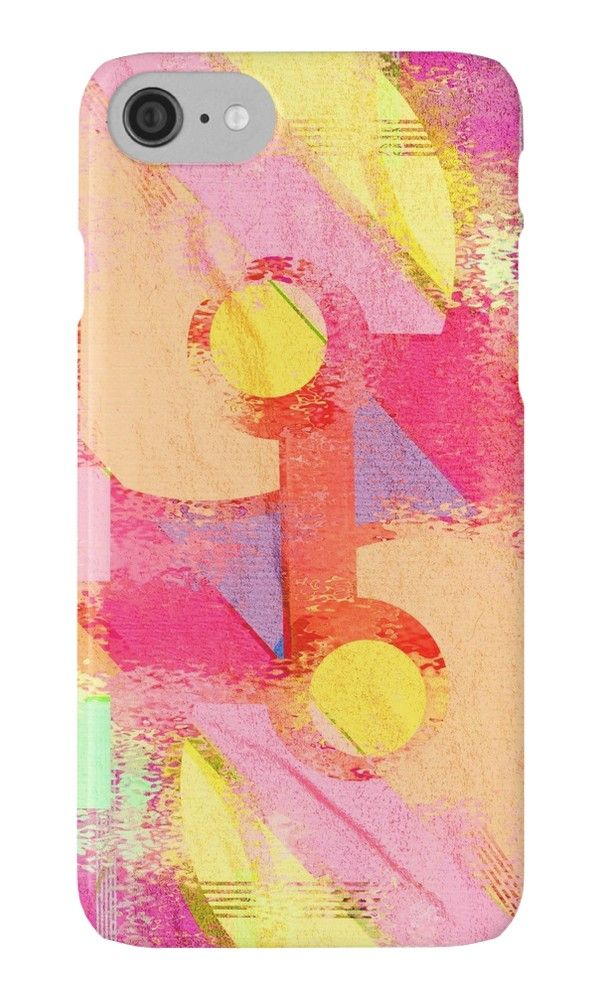 Worn out by Silvia Ganora New! #phonecases #iphonecases #galaxycases #redbubble #geometric #modern #summerdesign #contemporary #pinkdesign #washeddesign