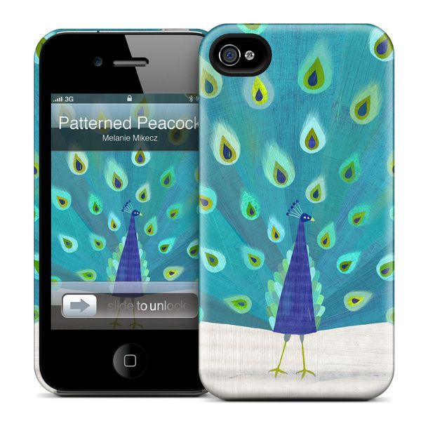 Patterned Peacock iPhone 4 Case-- for Jordan my love!!