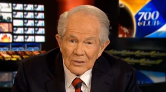 "Pat Robertson to Ken Ham: ""Let's Not Make A Joke Of Ourselves""  WOW!  I'm thrilled to hear him say this!"
