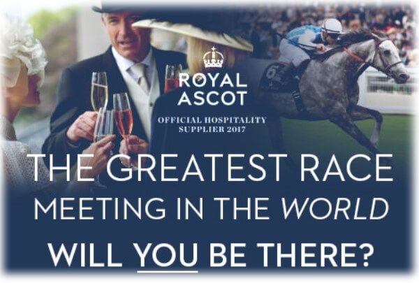 Royal Ascot Hospitality 2017  Royal Ascot hospitality 2017 offers top class corporate hospitality at one of the most prestigious events in the British social calendar, with unforgettable racing and dazzling style.    Come join us at The Village, Carriages, The Sandringham Restaurant or The Ascot Pav