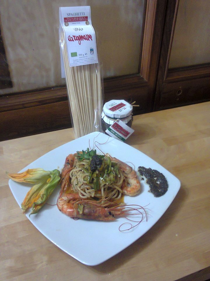13^ Ricetta. Spaghetti Tognazza mare e monti di Angelo Favale