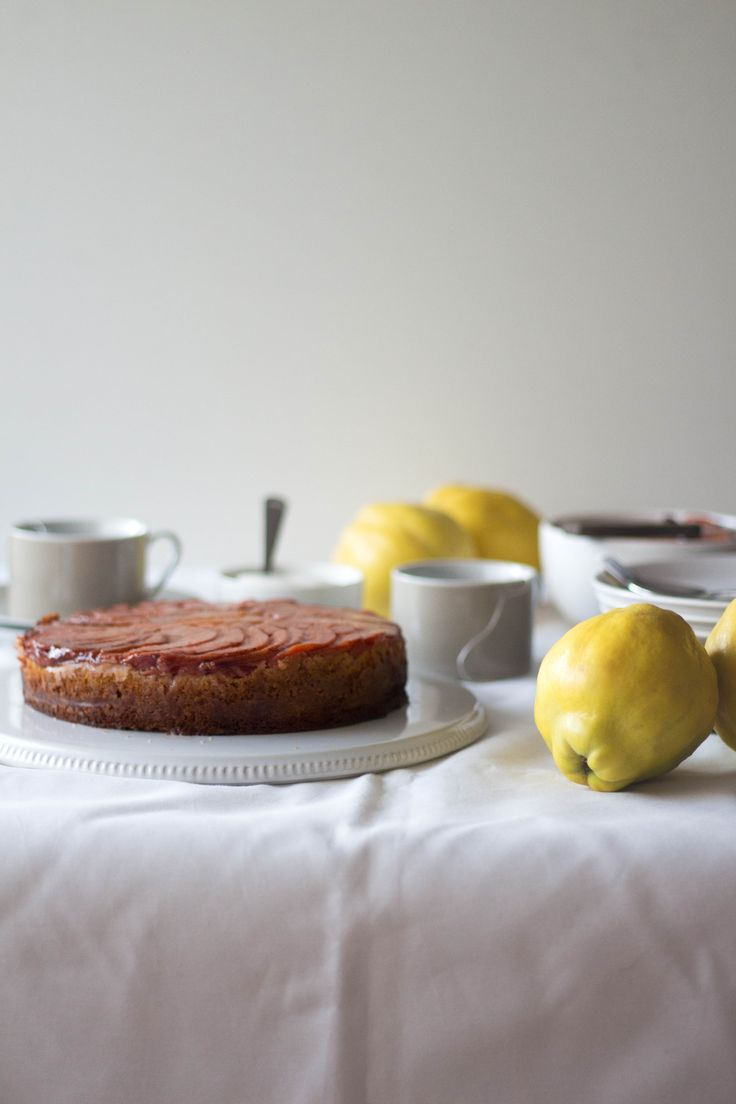 Quince Upside Down Cake | Migalha Doce