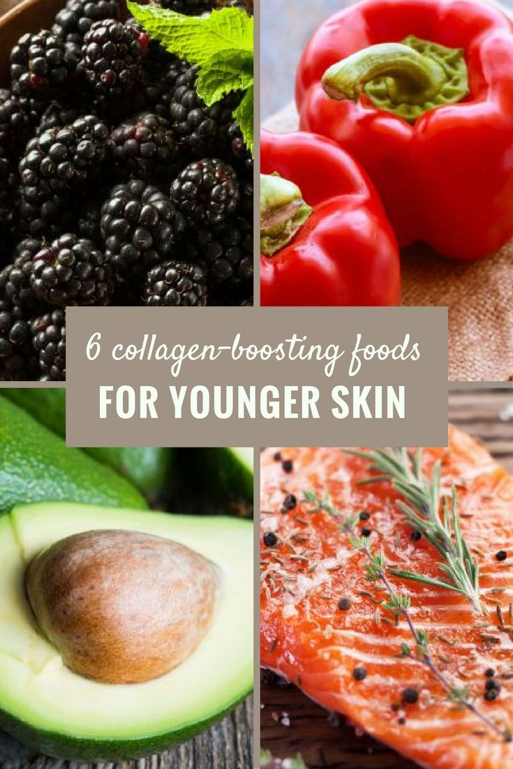 Your favorite foods may keep your skin youthful.