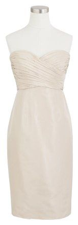 J.Crew Champagne Kristin Bridesmaid/Mob Dress Size 4 (S). J.Crew Champagne Kristin Bridesmaid/Mob Dress Size 4 (S) on Tradesy Weddings (formerly Recycled Bride), the world's largest wedding marketplace. Price $95.36...Could You Get it For Less? Click Now to Find Out!