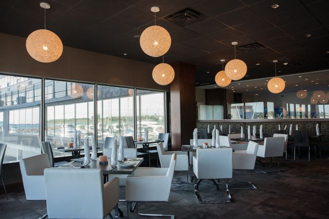 Upscale dining on the water in Kingston, Ontario.