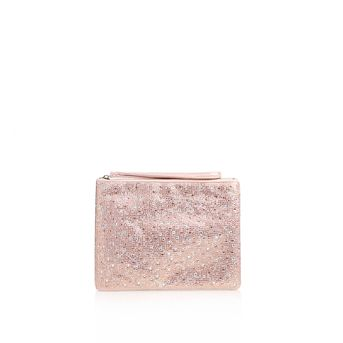 Gaye Pink Clutch Bag from Carvela Kurt Geiger