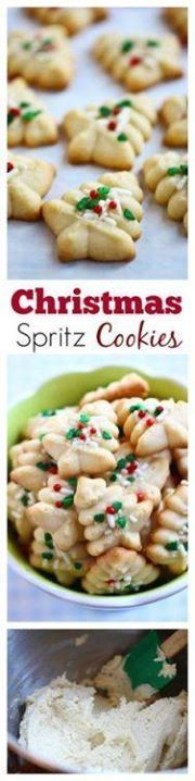 Spritz Cookies  BES Spritz Cookies  BEST buttery...   Spritz Cookies  BES Spritz Cookies  BEST buttery  Spritz Cookies  BES Spritz Cookies  BEST buttery melt-in-your-mouth crumbliest Christmas Spritz cookies ever! Super easy recipe that anyone can bake this holiday season   rasamalaysia.com