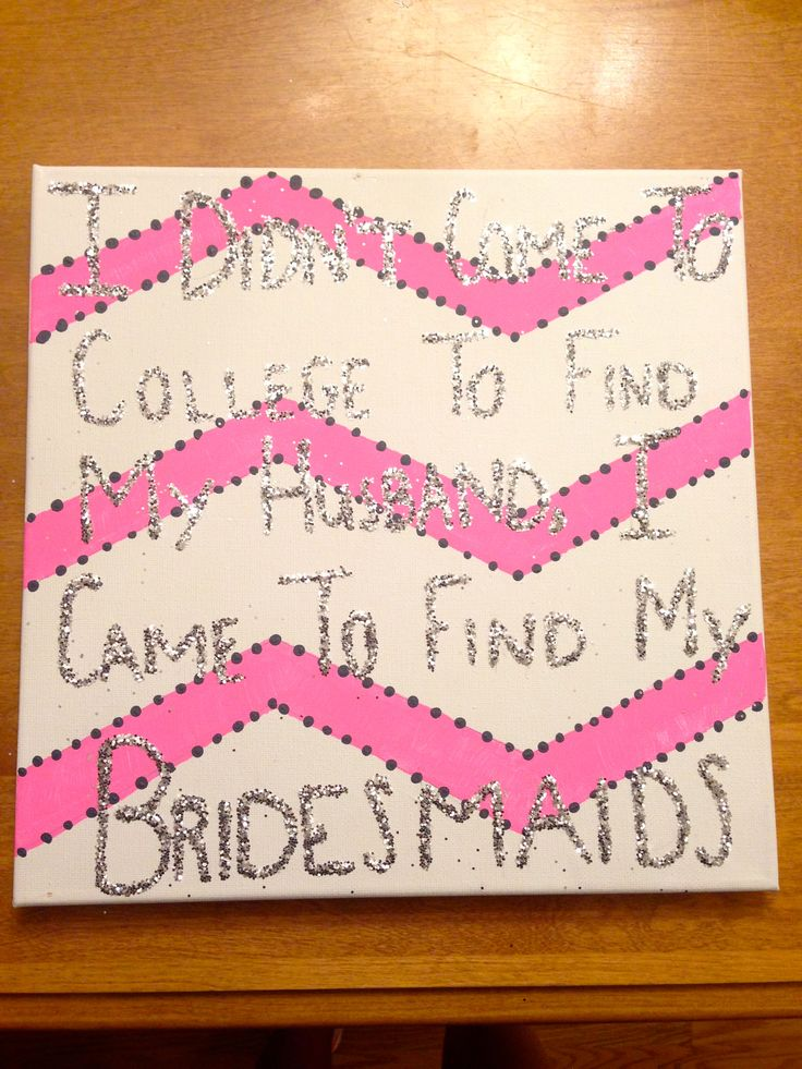 Perfect quote for a girls suite in college! (: