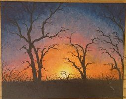 #nature #oil #oilpaint #oilpainting #oilpaintings #painting #paintings #sky #sunset #tree #trees Contact: RomCGallery@gmail.com
