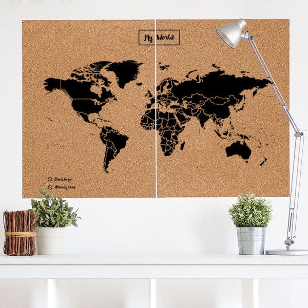 17 best images about woody map mapa de corcho on pinterest worldmap deco and woody - Mapa de corcho ...