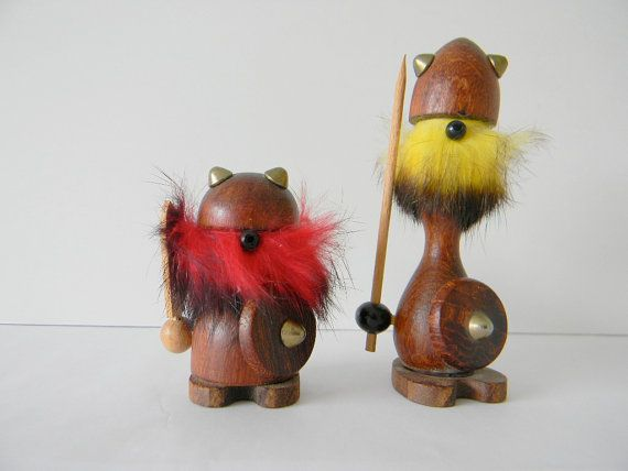 cute little vikings--much less intimidating than the regular kind! My grandpa has two of those.