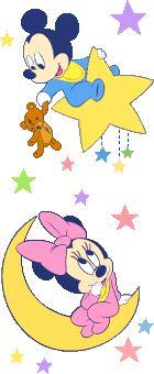 Baby Mickey & Minnie Stars