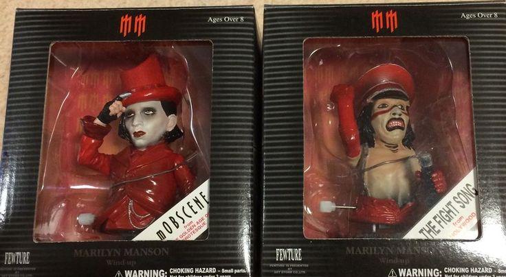 NEW Marilyn Manson MOBSCENE & THE FIGHT SONG 2set figure Fewture