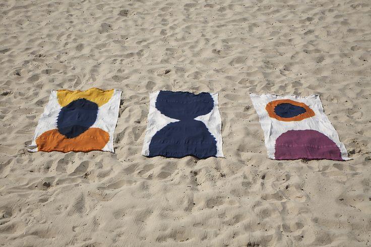 Dinosaur Designs & Jac+ Jack Towels - Lagoon Beach, The Kiss & Rising Beach