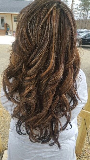 Dark chocolate caramel and vanilla Hair! Hair by Telia @ Telia's Cut and color a Paul Mitchell focus salon