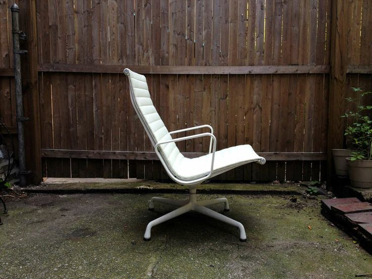 Eames Aluminum Group Lounge Chair, 1958