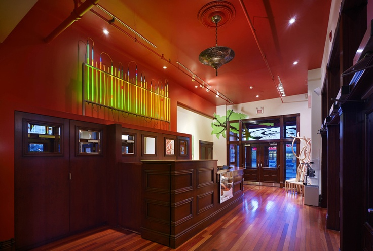Gladstone Hotel's lobby - looks like a great funky-artsy place to visit in Toronto, CA