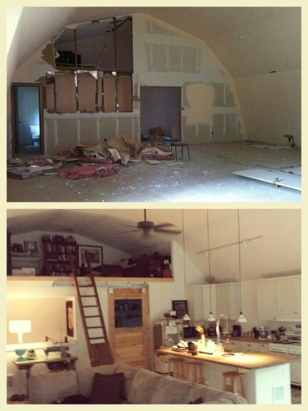 Barn House Remodel Before And After 2400 Square Foot
