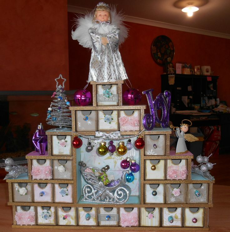 Advent Calendar for our Daughter Rochelle...