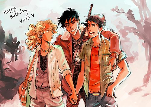 Happy birthday, Viria! -- Viria should be the official PJO artist (and not just the unofficial one).