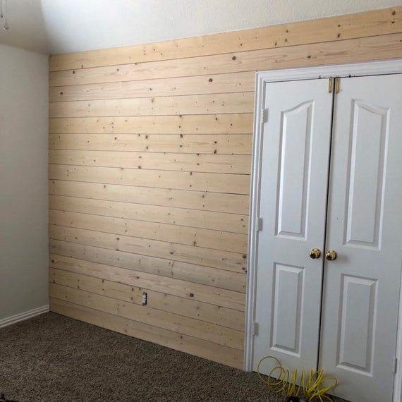 Shiplap No Lap Boards 400 Sqft In 2020 Wood Plank Walls Shiplap Lap Boards