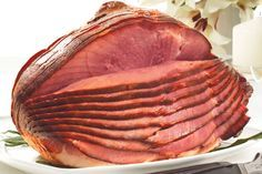 How to Bake a Pre-Cooked Spiral-Sliced Ham http://www.livestrong.com/article/428804-how-to-bake-a-precooked-spiral-sliced-ham (Ham photo: @hickoryfarms)