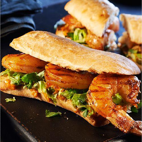 Sandwichs à la mexicaine aux crevettes grillées et au chipotle   PC.ca                                                                                                                                                     Plus