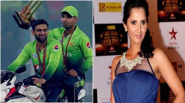 Sania Mirza trolls Shoaib Malik much to Twitteratis? amusement
