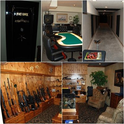 104 best images about gun storage on pinterest hidden for Gun safe room ideas