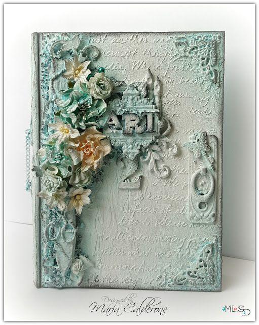 Mixed Media Art Prompt Box 2 by Maria Calderone