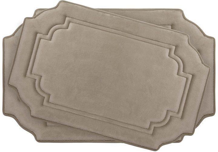 Asstd National Brand Bounce Comfort Calypso 2-pc. Memory Foam Bath Mat Set
