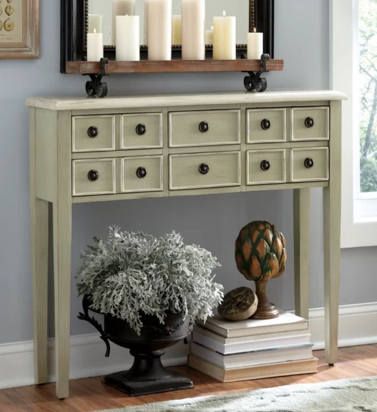 practical and attractive narrow console tables for your on small entryway console table decor ideas make a statement with your home s entryway id=14211