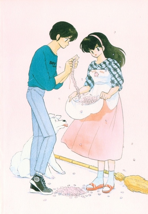 Maison Ikkoku by Rumiko Takahashi A silly but touching comedy about a stuggling student trying to survive college despite his crazy tenant-neighbours while nursing a not-so-secret crush on his unsuspecting building manager.
