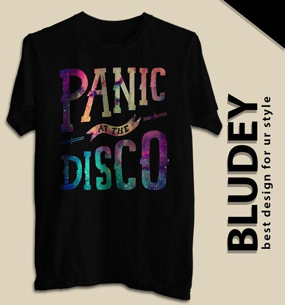 Panic At The Disco Galaxy TShirt Panic At The Disco Mens by bludey, $18.99