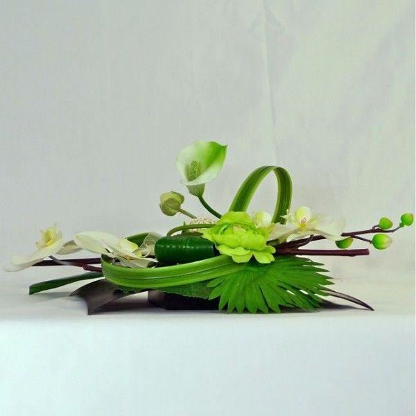 Flower arrangement modern and design.