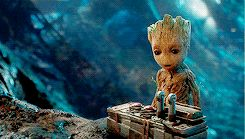 I am Groot. Love this part of the trailer