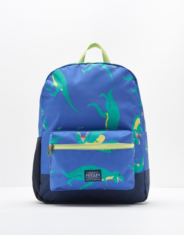 Patch Dino Rucksack , Size One Size | Joules UK
