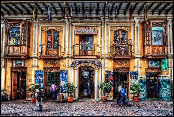 La Casona del Museo, centro de Bogotá | Flickr - Foto de Pedro Szekely