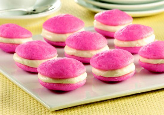 Duncan Hines Pink Velvet Cake Mix Cookies