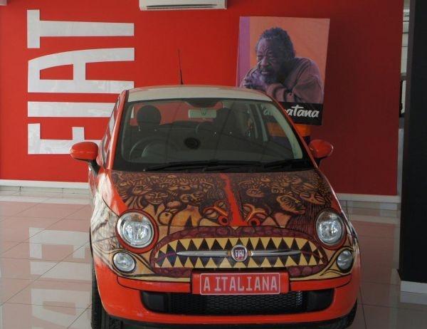 | Malangatana Valente Ngwenya makes Fiat 500 art car immortal
