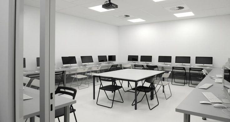 Data center into ECS Brussel, Belgium