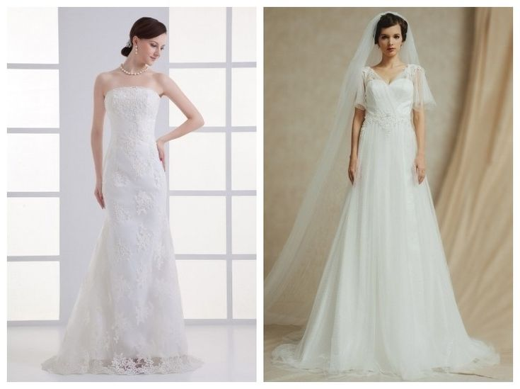 buy cheap lace wedding gowns UK online