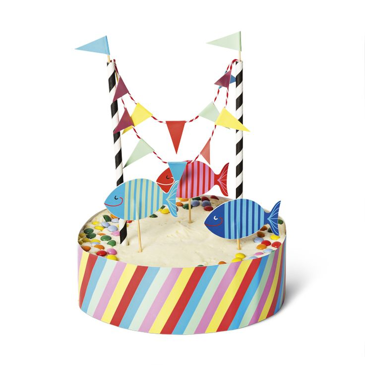 Dekoracja w stylu morskim do ciasta #decoration #ciasto #cake