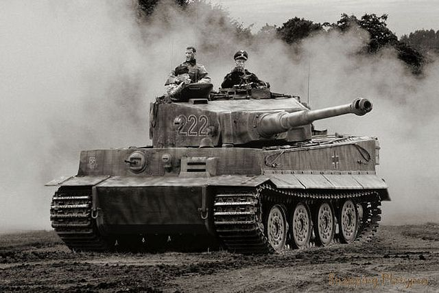 """Heavy Panzerkampfwagen Tiger Ausf. B, Königstiger (""""King Tiger"""") II.It had early reliability problems but ended up deadly: both remarkably agile and practically invincible. At the closing of the war for example, a handful of them wiped out an entire battalion of US Sherman tanks, all in one day. This would make no difference to the war of course. The Germans were simply too vastly outnumbered."""