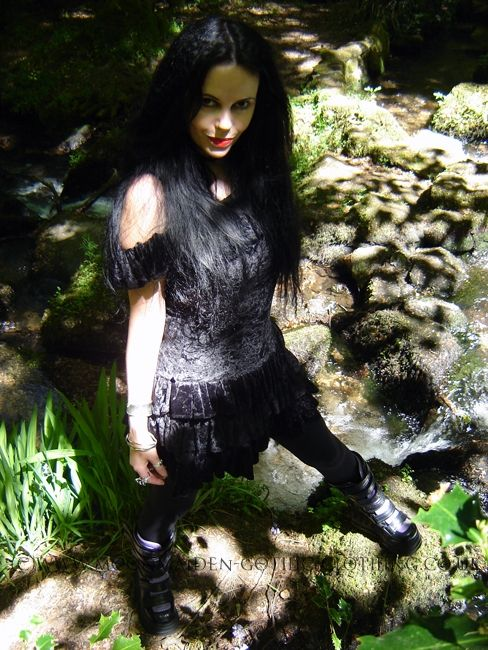Gypsy Mini Dress by Moonmaiden Gothic Clothing UK