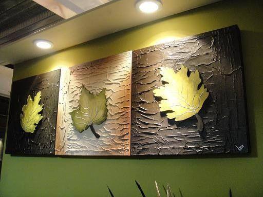 Cuadro moderno - Maple hojas